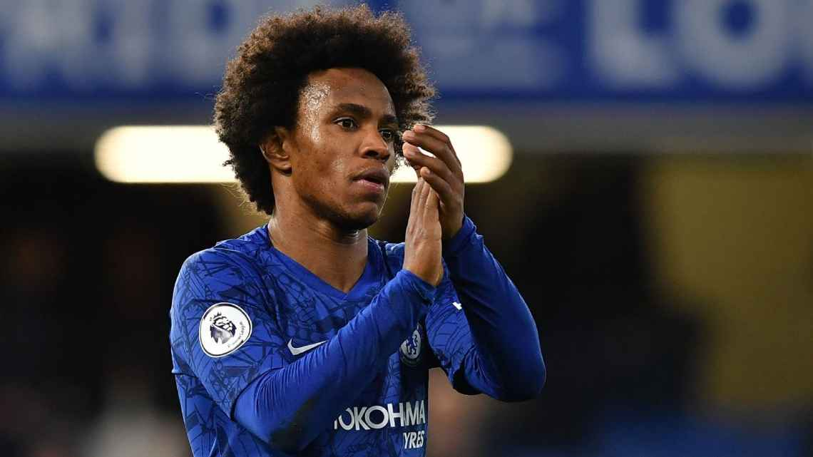 Atletico Madrid monitor Willian in hopes of securing a summer free transfer - Bóng Đá