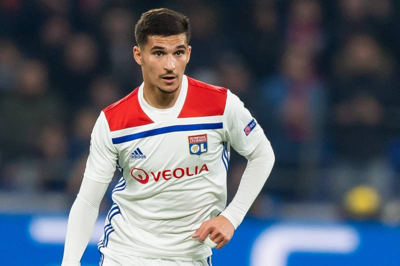 'I try not to pollute my mind' – Chelsea target Aouar not thinking about Lyon exit - Bóng Đá