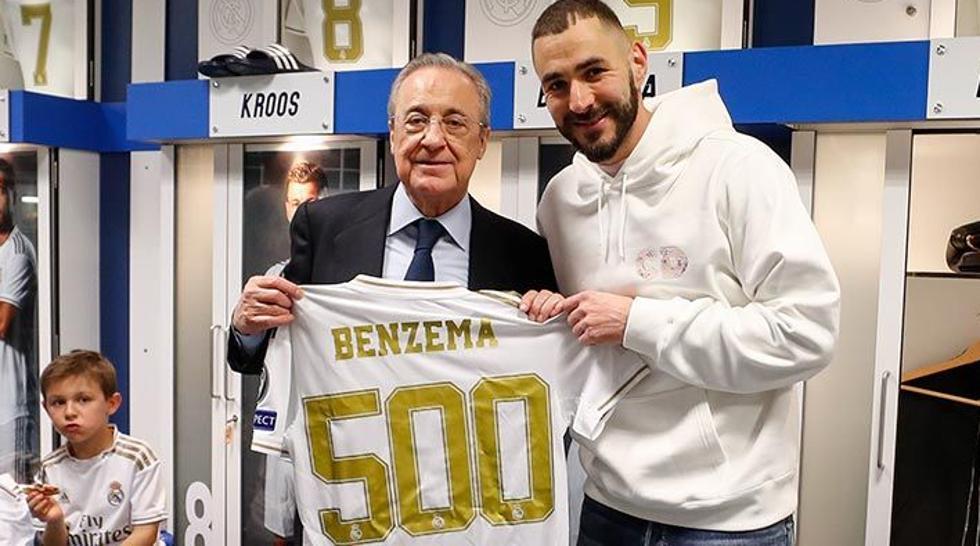 Benzema, 500 partidos con el Real Madrid - Bóng Đá