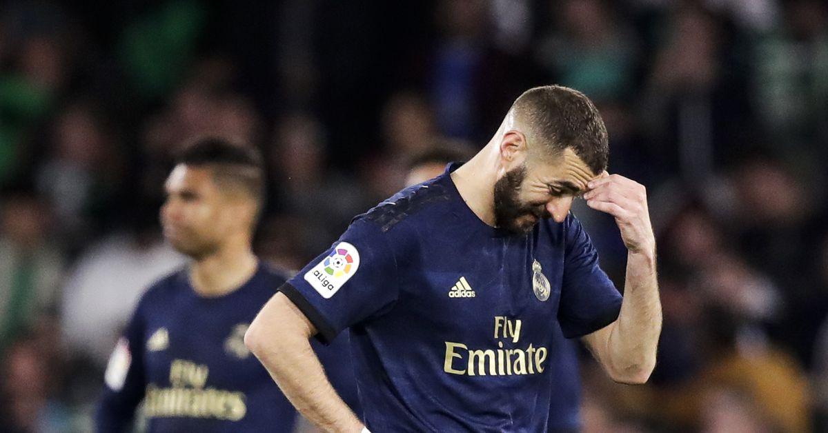 Un Madrid con pies de barro - Bó.ng Đá.