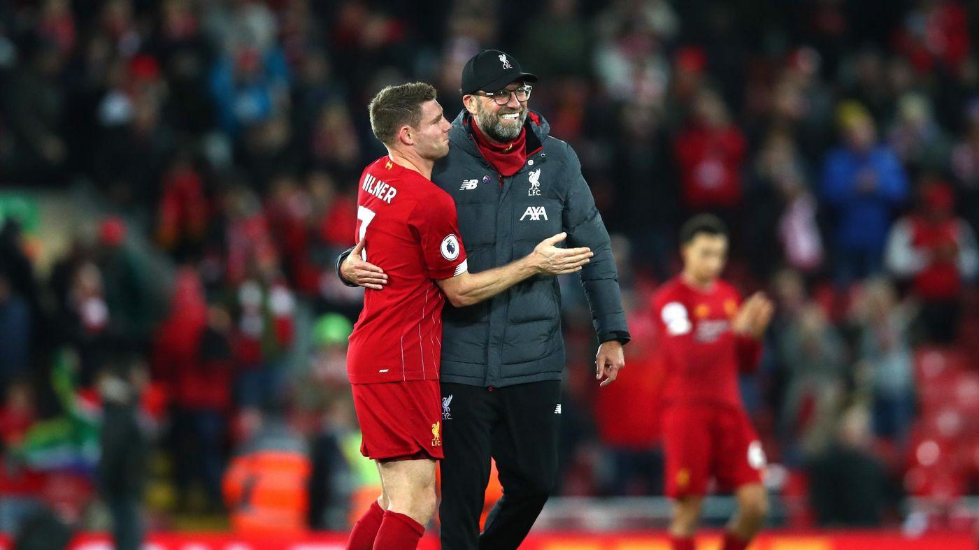 Klopp's 'rockets' help keep Liverpool focused - Milner - Bóng Đá