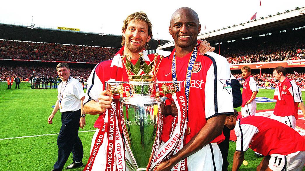 Arsenal: Tony Adams and Patrick Vieira named amongst 10 greatest ever Premier League captains of all time - Bóng Đá
