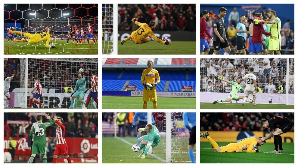 Five years of Oblak's miracles at Atletico Madrid - Bó.ng Đá.