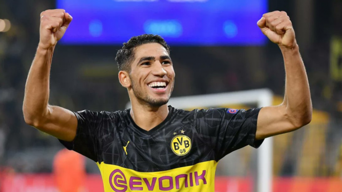 Achraf's value has increased twelvefold since leaving Real Madrid - Bóng Đá