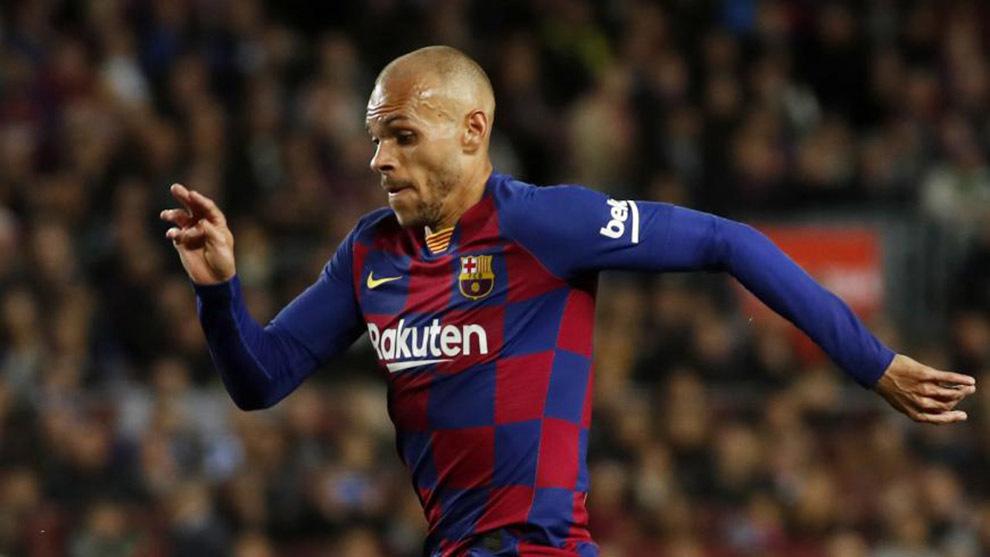 Braithwaite: I want to become a legend at Barcelona - Bóng Đá