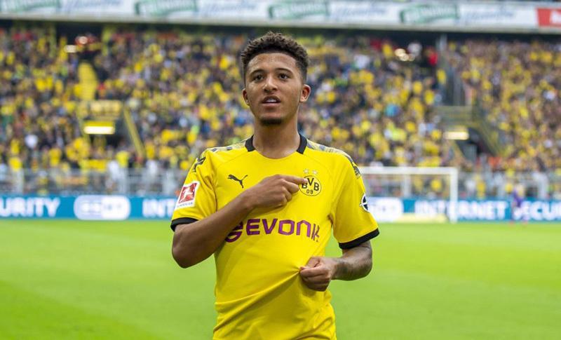 Borussia Dortmund tell Jadon Sancho he can leave in major Man Utd transfer boost - Bóng Đá