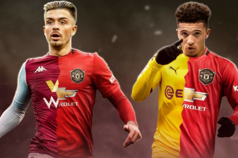 Man Utd confident of Jadon Sancho and Jack Grealish transfers - with extra signing hopeful - Bóng Đá