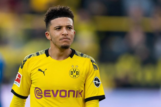 Borussia Dortmund reportedly forced to lower their £100m asking price for Barca-linked Jadon Sancho - Bóng Đá
