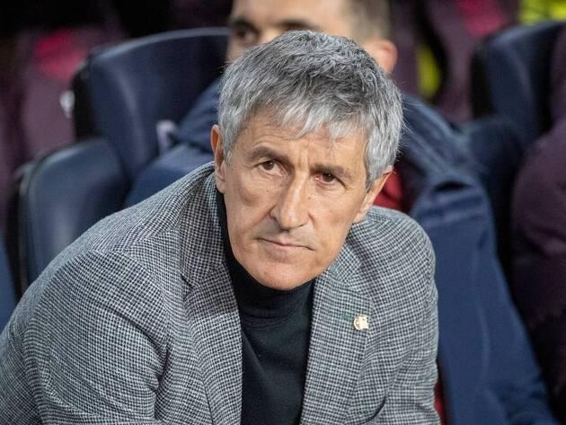 Quique Setien's future reportedly solely depends on Champions League success - Bóng Đá