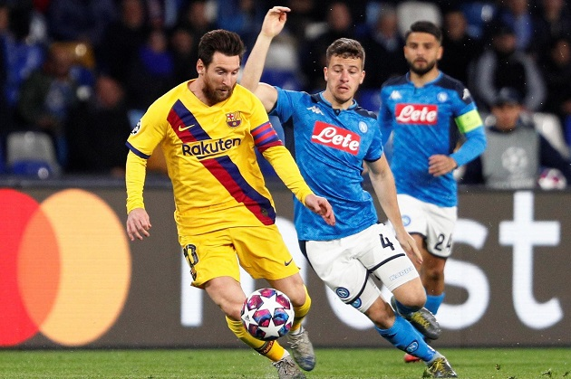 'We need to be more careful': Napoli right-back Elseid Hysaj calls for caution as Barcelona clash draws nearer - Bóng Đá