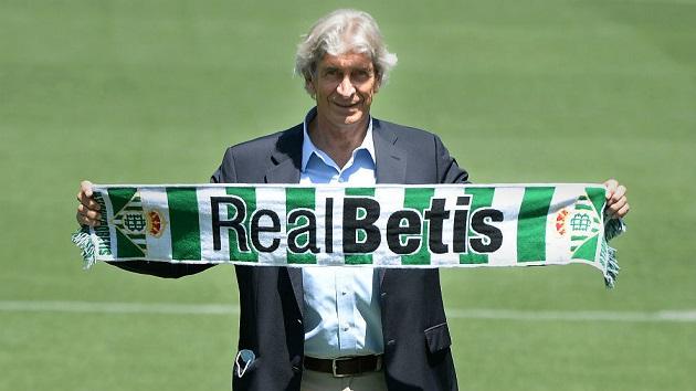 Manuel Pellegrini trở thành HLV của Betis - Bóng Đá