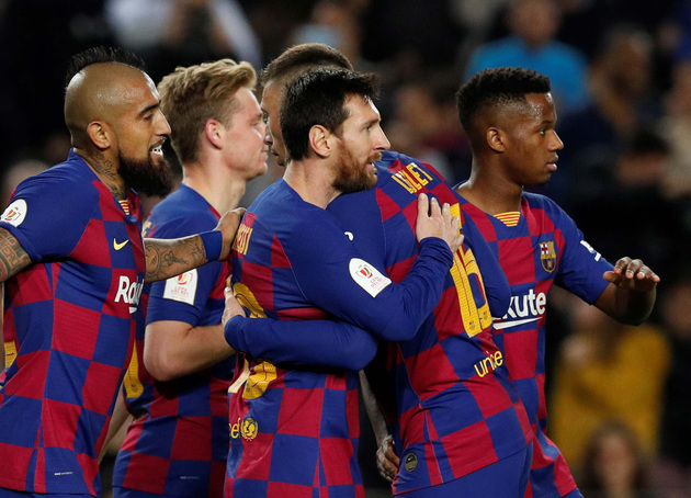 Quarter-final already secured? Barcelona host Napoli on course of incredible unbeaten run in Europe - Bóng Đá