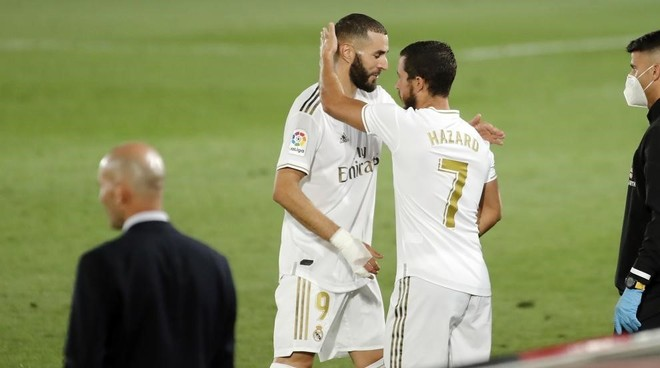Hazard, Benzema and Asensio make Zidane dream - Bóng Đá