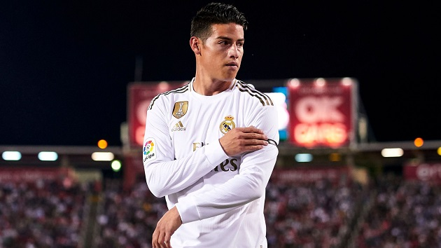 Agent offers James Rodriguez to PSG, Parisians 'willing to pay' Madrid's asking price - Bóng Đá