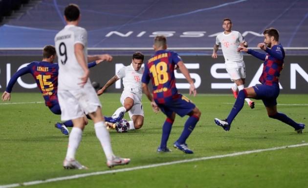 TRỰC TIẾP Barcelona 2-8 Bayern Munich: Bayern thẳng tiến vào bán kết (Hết giờ) - Bóng Đá