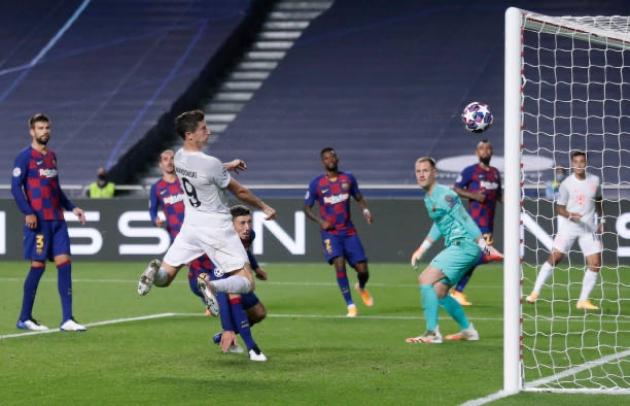 TRỰC TIẾP Barcelona 2-8 Bayern Munich: Coutinho lập cú đúp! - Bóng Đá