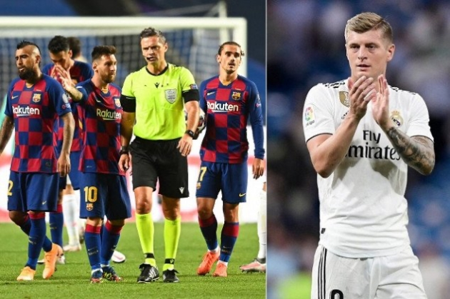 Toni Kroos shares insight on how Real Madrid players reacted to Barça's 8-2 loss - Bóng Đá
