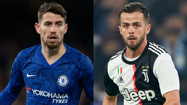 Chelsea rejected Miralem Pjanic and Jorginho swap transfer offer from Juventus, claims agent - Bóng Đá