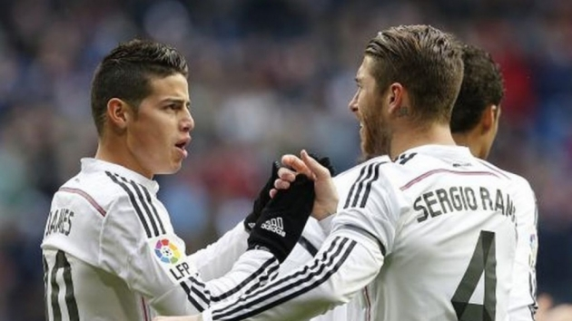 Sergio Ramos' sentimental message for James after Real Madrid exit confirmed - Bóng Đá