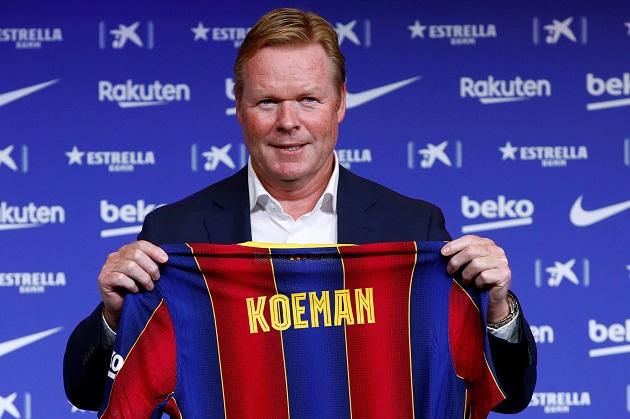 Koeman và 3 sự thay đổi quan trọng trong việc tái thiết Barca