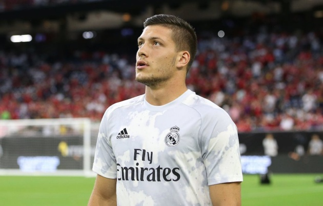 Neither Real Madrid nor Luka Jovic have closed the door on a possible loan move elsewhere. - Bóng Đá
