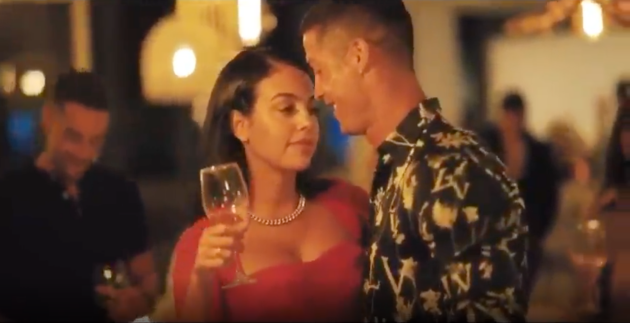 Cristiano Ronaldo and Georgina celebrate their love with a wedding-like video - Bóng Đá