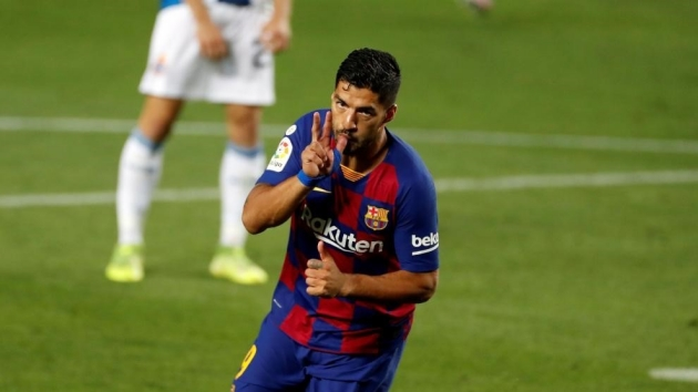 The numbers behind Luis Suarez's move to Atletico Madrid - Bóng Đá