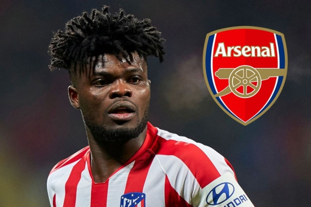 What Thomas Partey thinks about Arsenal transfer after Atletico Madrid request - Bóng Đá