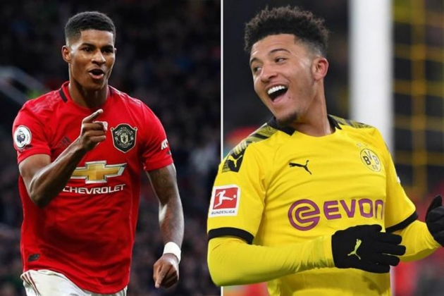 Jadon Sancho sends Manchester United fans wild with Marcus Rashford comment - Bóng Đá