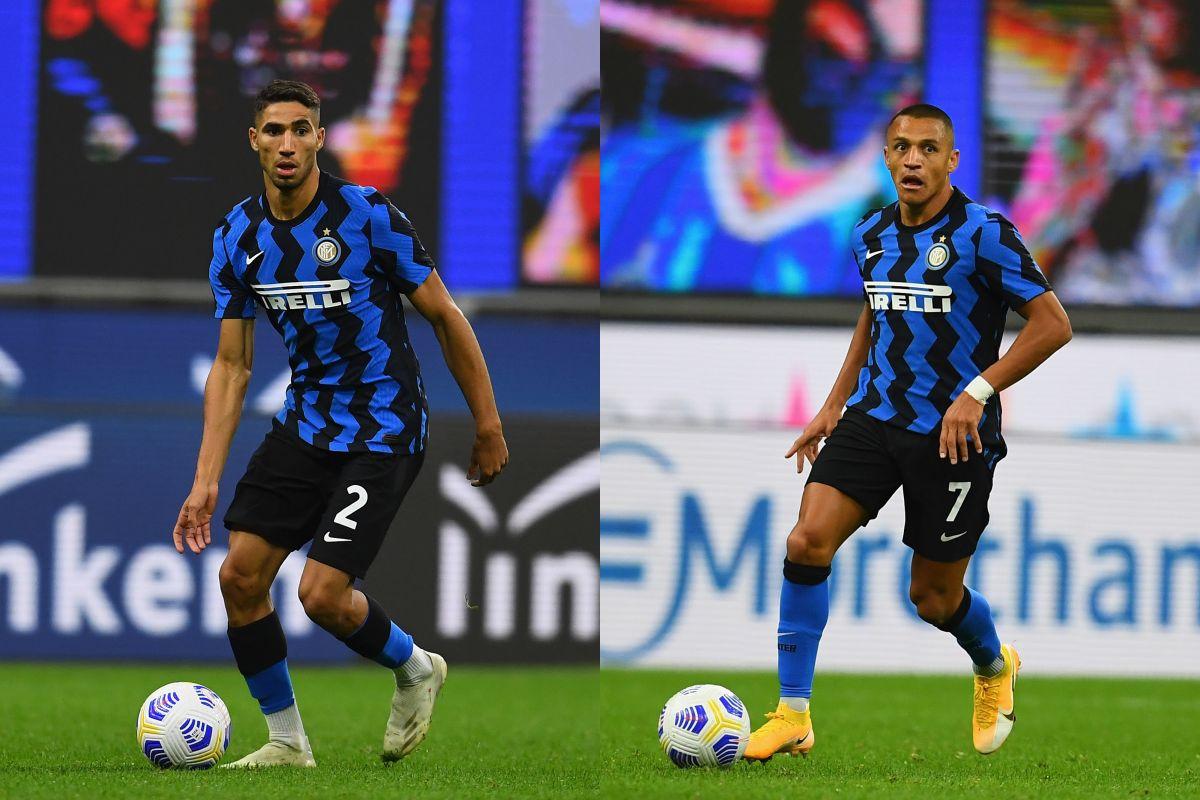 Achraf y Alexis, decisivos en el triunfo 'loco' del Inter - Bóng Đá