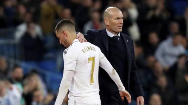 Zidane: Hazard's injury was more serious than first thought - Bóng Đá