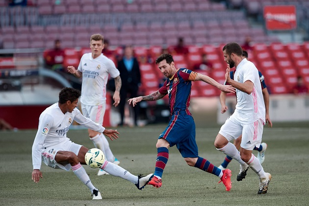 Symbolic: Ansu Fati scores Barca's 400th Clasico goal - Bóng Đá