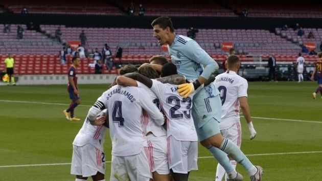 Courtois: Real Madrid's badge deserves to be fought for and valued in every game - Bóng Đá