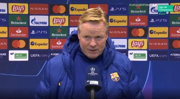 HLV Koeman phát biểu về sự khó khăn của Barca ở La Liga.