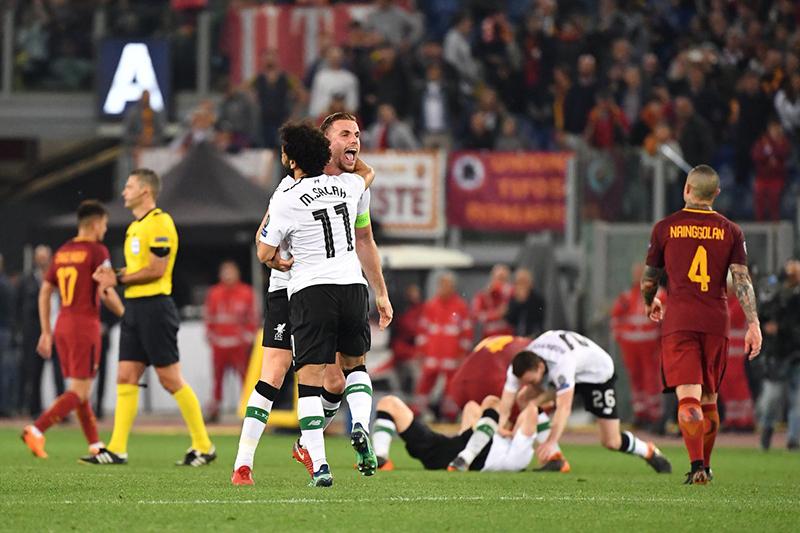 Liverpool run rẩy vào chung kết: Cảm ơn Roma! - Bóng Đá