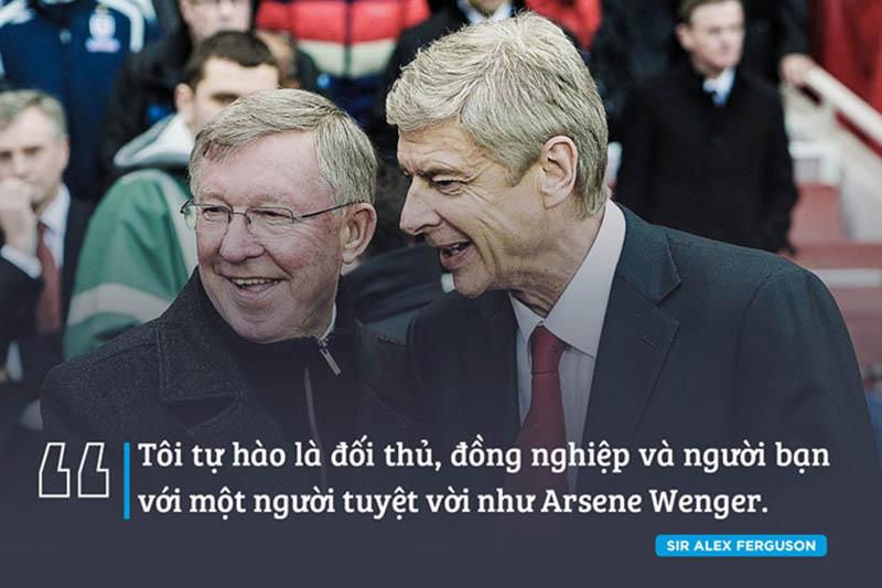 Sir Alex và Arsene Wenger: Ta nhận tình yêu vì đã cho đi tình yêu - Bóng Đá