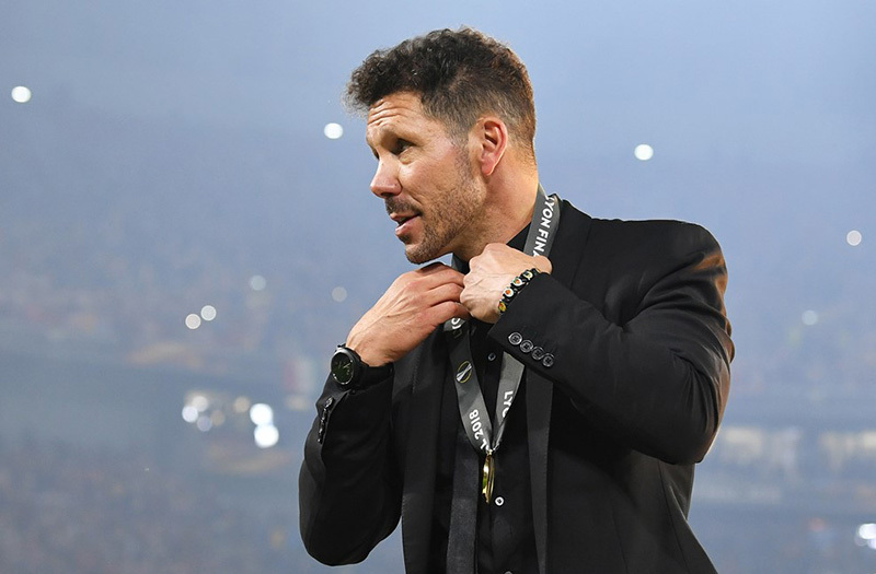 """Atletico vô địch Europa League, HLV Simeone """"nổ"""" tưng bừng - Bóng Đá"""