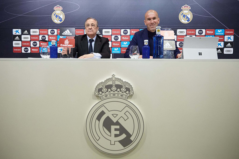 Zidane rời Real Madrid: Sự khôn ngoan của