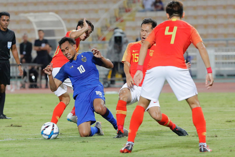 Marcello Lippi giúp tuyển Trung Quốc đè bẹp Thái Lan - Bóng Đá