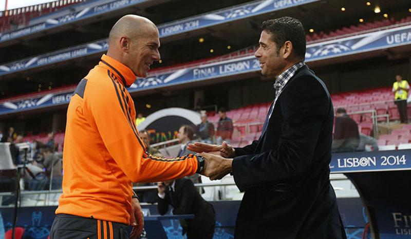HLV Fernando Hierro có mang chân mệnh thiên tử như Zidane? - Bóng Đá