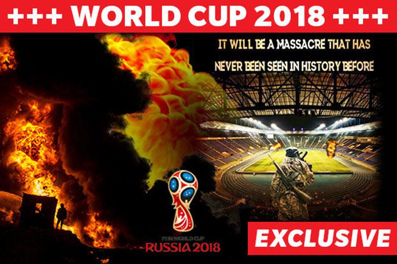 Khủng bố đe dọa tấn công nước Nga trong trận khai mạc World Cup - Bóng Đá