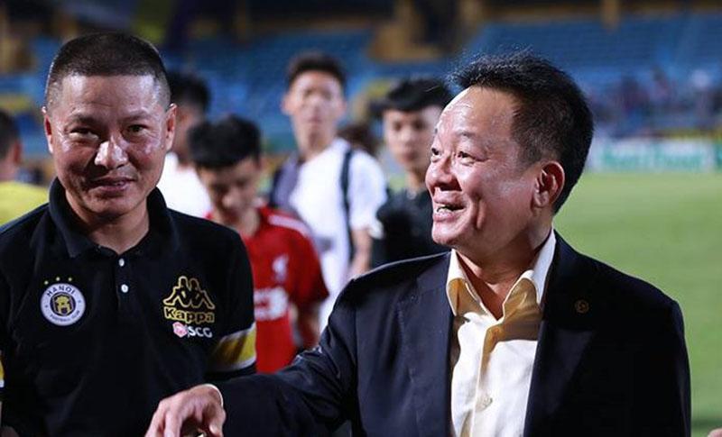 Bầu Hiển đã cười và trách nhiệm của Quang Hải, Duy Mạnh - Bóng Đá