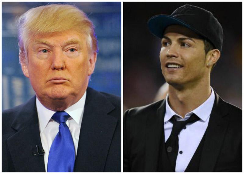 Sốc! Donald Trump khuyên Ronaldo tranh cử tổng thống - Bóng Đá