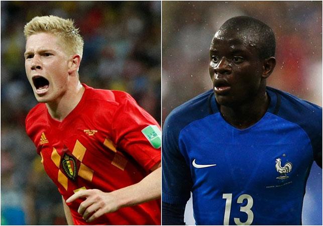 4 cuộc chiến cá nhân quyết định cục diện trận đấu Pháp - Bỉ - Bóng Đá