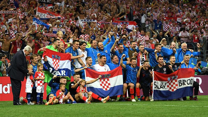 Croatia hạ Anh để viết lịch sử: Con tim và tinh thần thép - Bóng Đá