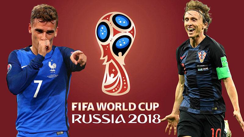 Chung kết World Cup 2018: Griezmann và Modric tranh Quả bóng Vàng - Bóng Đá