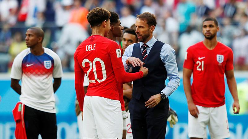 Harry Kane và đồng đội buồn bã chia tay World Cup 2018 - Bóng Đá