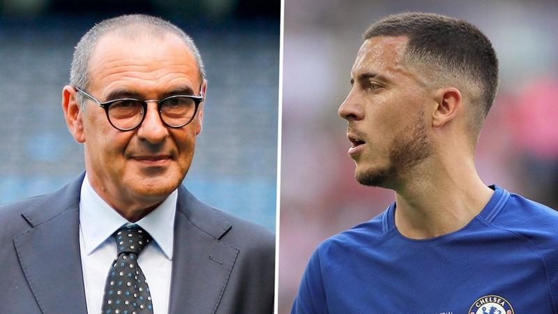 Chelsea chuẩn bị cho Europa League, Sarri nói điều BẤT NGỜ về Hazard - Bóng Đá