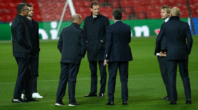 Allegri tiết lộ kế hoạch khắc chế Man Utd của Juventus - Bóng Đá