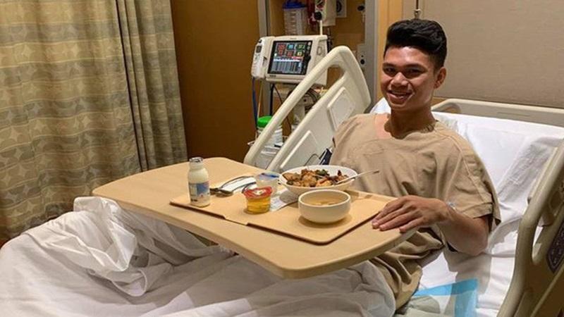 Ăn mừng Văn Đức ghi bàn, sao U23 Việt Nam suýt tái phát chấn thương - Bóng Đá